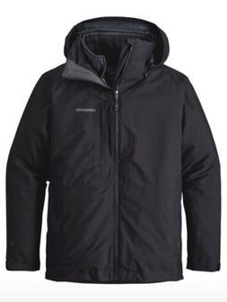 Patagonia Men's 3-In-1 Snowshot Ski Jacket Black Size Medium