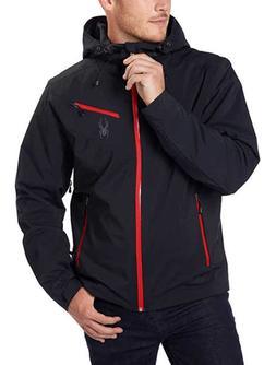 Spyder Men's Fanatic Ski Board Jacket with Hood Waterproof *
