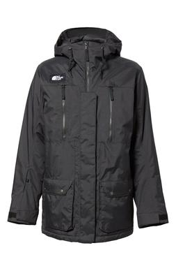 The North Face Men's Hooded Insulated Ski Jacket Black Sz XX