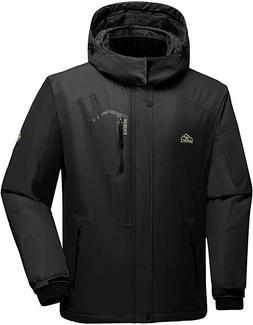 Men's Mountain Waterproof Ski Jacket II Windproof Rain Jacke