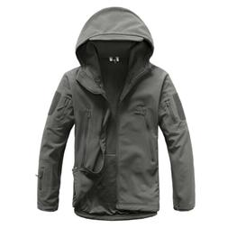 Men's Outdoor Hunting Waterproof Jacket Tactical Sport Windb