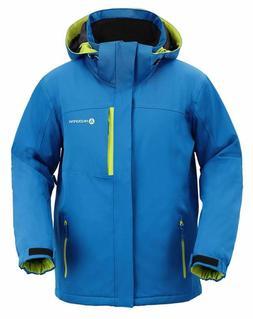 Andorra Men'S Performance Insulated Ski Jacket With Zip-Off