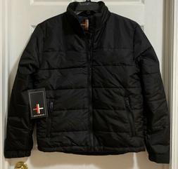 Surplus Men's Big & Tall Puffer Winter Coat Ski Jacket Black
