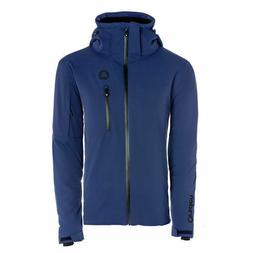 Orsden Men's Slope Ski Jacket Nightfall Navy Blue Large L