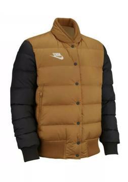 Men's Nike Sportswear Down Fill Jacket Mustard BLACK 928819-