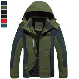 men s water resistant thin hiking jacket