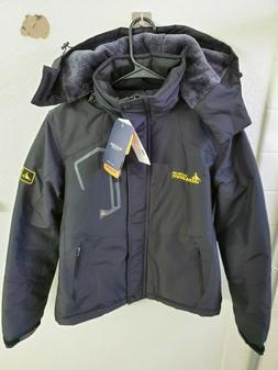 MOERDENG Men's Waterproof Ski Jacket Warm Winter Snow Coat M