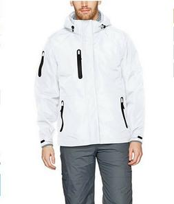 HFX Mens Insulated Ski Jacket Coat White Small $225.00