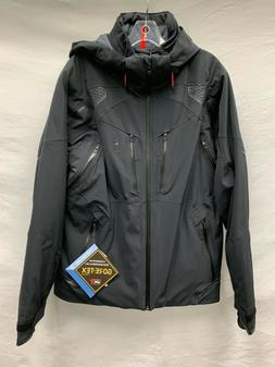 Mens Spyder Pinnacle GTX Ski Jacket 191002 Black Size L