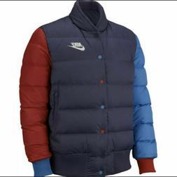 Mens Nike Sportswear Down Fill Jacket 928819-557 Purple/Red-