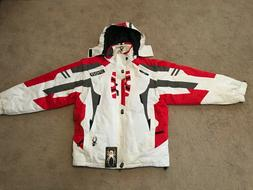 Spyder Mens XL Ski Jacket w/Hood...X-Static Insulation...Der