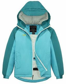 New Wantdo Girl's Hooded Ski Jacket Spring Windproof Fleece