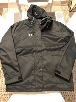 New Men's Under Armour Porter 3-in-1 Jacket ColdGear  Black