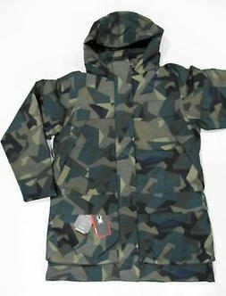 New with Tag Mens SPYDER Guard Camo Print Rail Parka Hooded
