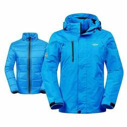 NEW Wantdo Women's Jacket 3-in-1 Small Winter Coat Snowboard