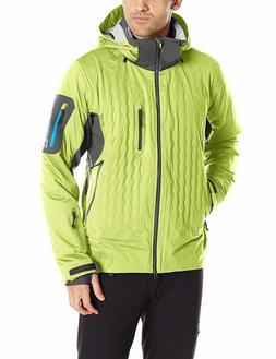 Nudown Squaw Peak Snowboard Ski Jacket Mens Primaloft Macaw/
