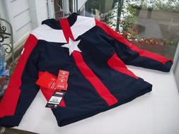 nwt $199 SPYDER MARVEL HERO SKI Jacket Hood Boy's L 14 16 Ca