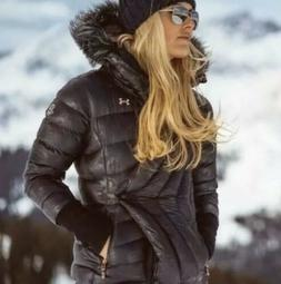 NWT $500 UNDER ARMOUR LOUISE LINDSEY VONN DOWN SKI JACKET SZ