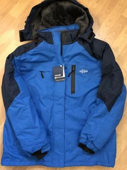 NWT Wantdo Men's Hooded Waterproof Jacket Coat Large Windpro