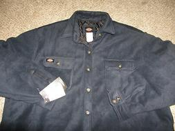 NWT NEW Dickies Micro Fleece Shirt Jacket Coat Insulated Rel