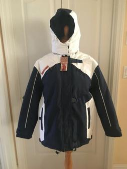 NWT Women's SAHARA CLUB Water Resistant Ski Removable Hood