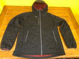 OR Outdoor Research Men's XXL Black Zip Refuge Hooded Packab