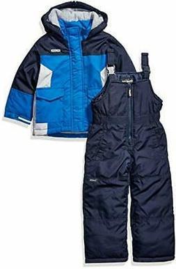 OshKosh B'Gosh Boys' Little Ski Jacket and Snowbib Snowsuit