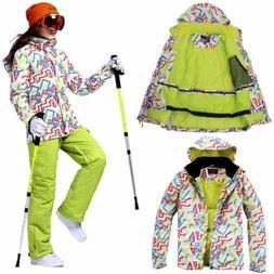 Outdoor Women Winter Jacket Ski Snow Sport Coat Hiking Climb