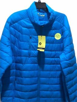 Xersion Packable Puffer Water Resistant Retains Heat Spandex