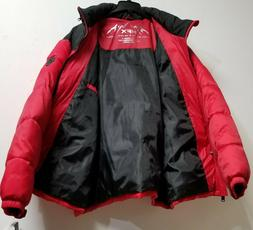 red black big and tall parka winter
