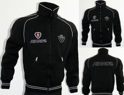 scania v8 fleece jacket polar coat veste