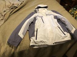 ZeroXposur Silver Ice Ski Jacket Men's XL