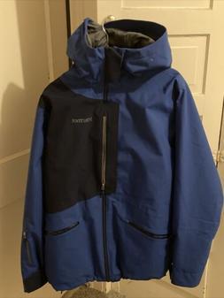 Marmot Ski Jacket - Men's Large - Blue Dark Blue Snowboard