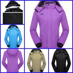 Ski Jacket Women Clothing Winter Fleece Warm Fabric Snowboar