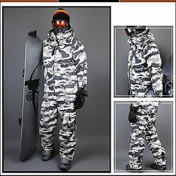 SOUTH PLAY Ski Snowboard Wear Suit Parka Jacket+Pants Light