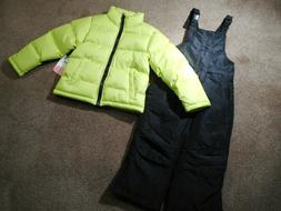 Snowsuits Coats Girls Outerwear Puffer jackets Black Snow/Sk