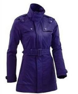 Stella McCartney Adidas Dark Purple Women's WS Ski Jacket Co