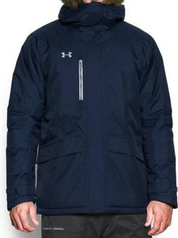 SZ LARGE Under Armour Storm 3 Infrared Coldgear Reactor Navy