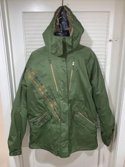 Burton U5  Mens Hooded Insulated Snowboard Ski Jacket Coat S