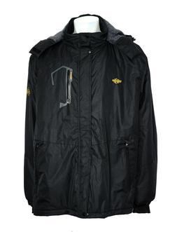 WANTDO Men's Waterproof Ski Jacket Fleece Winter Coat Windpr