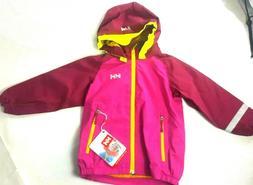 Helly Hansen Waterproof Shell Jacket Pink Detachable Hood Gi
