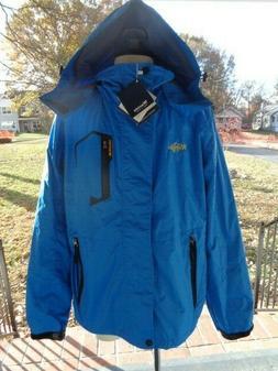 WANTDO windproof breathable zip ski jacket men's size S NWT