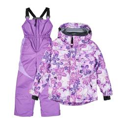 Winter Kid's Snowsuit  Girls'  Ski Jacket and Snowbib Snowsu