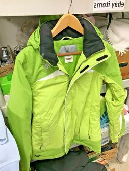 Spyder Women Green & White Volatile Ski Jacket 5,000mm Size