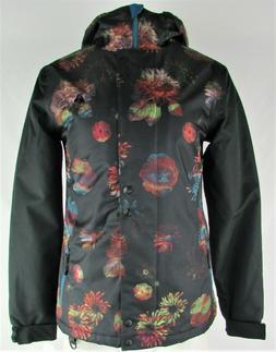 Aperture Women's Black Floral Ski Jacket