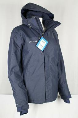 Columbia Women's Esla Omni Heat Waterproof Hooded Ski Jacket