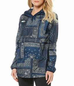 THE NORTH FACE Women's Fanorak Jacket Rain Urban NAVY Print