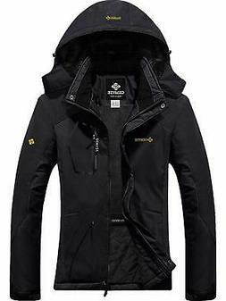 GEMYSE Women's Mountain Waterproof Ski Snow Jacket Winter Wi