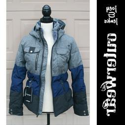Women's NWT NEW Retail $350.00 Obermeyer Gray Navy Leighton