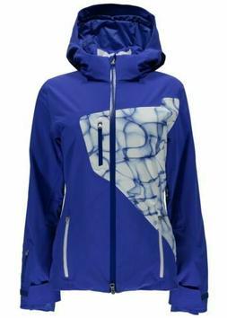 SPYDER Women's Pandora Ski Jacket Size 10 BLUE